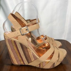BCBGENERATION wedges Woman's 8